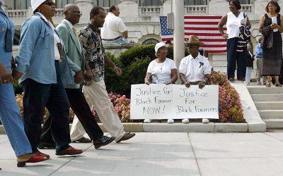 U.S. Opens Spigot After Farmers Claim Discrimination